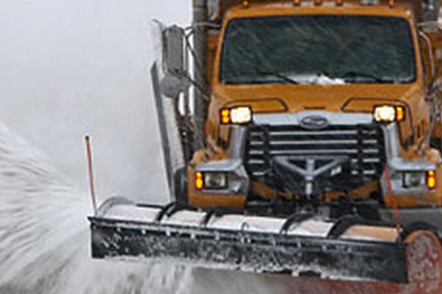 Kamion za čišćenje snega
