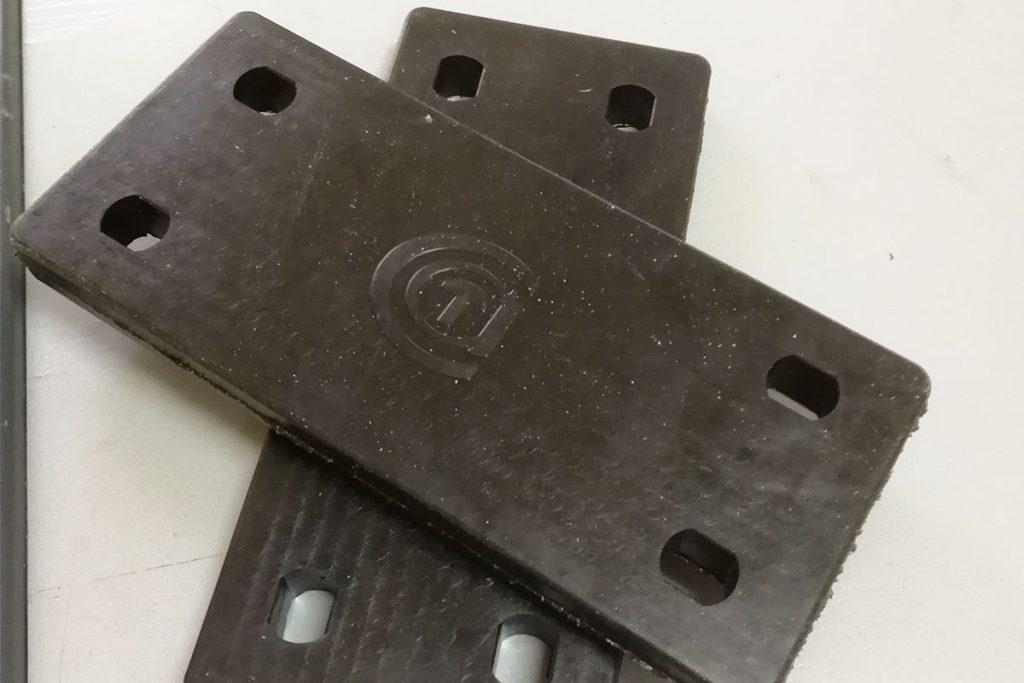 Gumeni amortizer za snežni plug RIKO