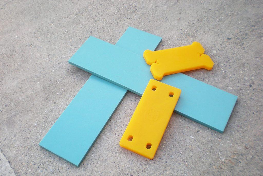 Poliuretansko sečivo noža za snežni plug